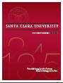 SCU President's Report Cover