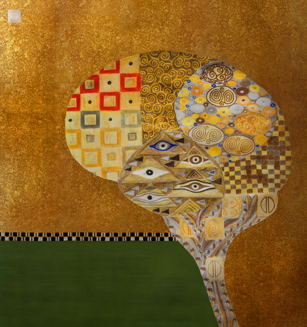 Klimt brain by Threestory Studio